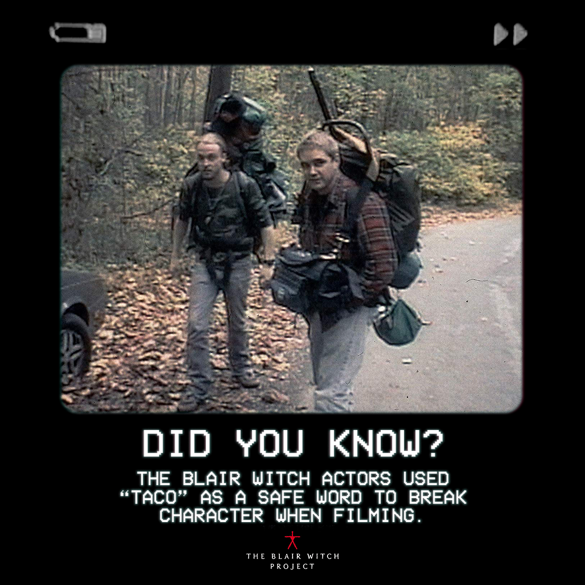 Blair Witch Did You Know Graphic