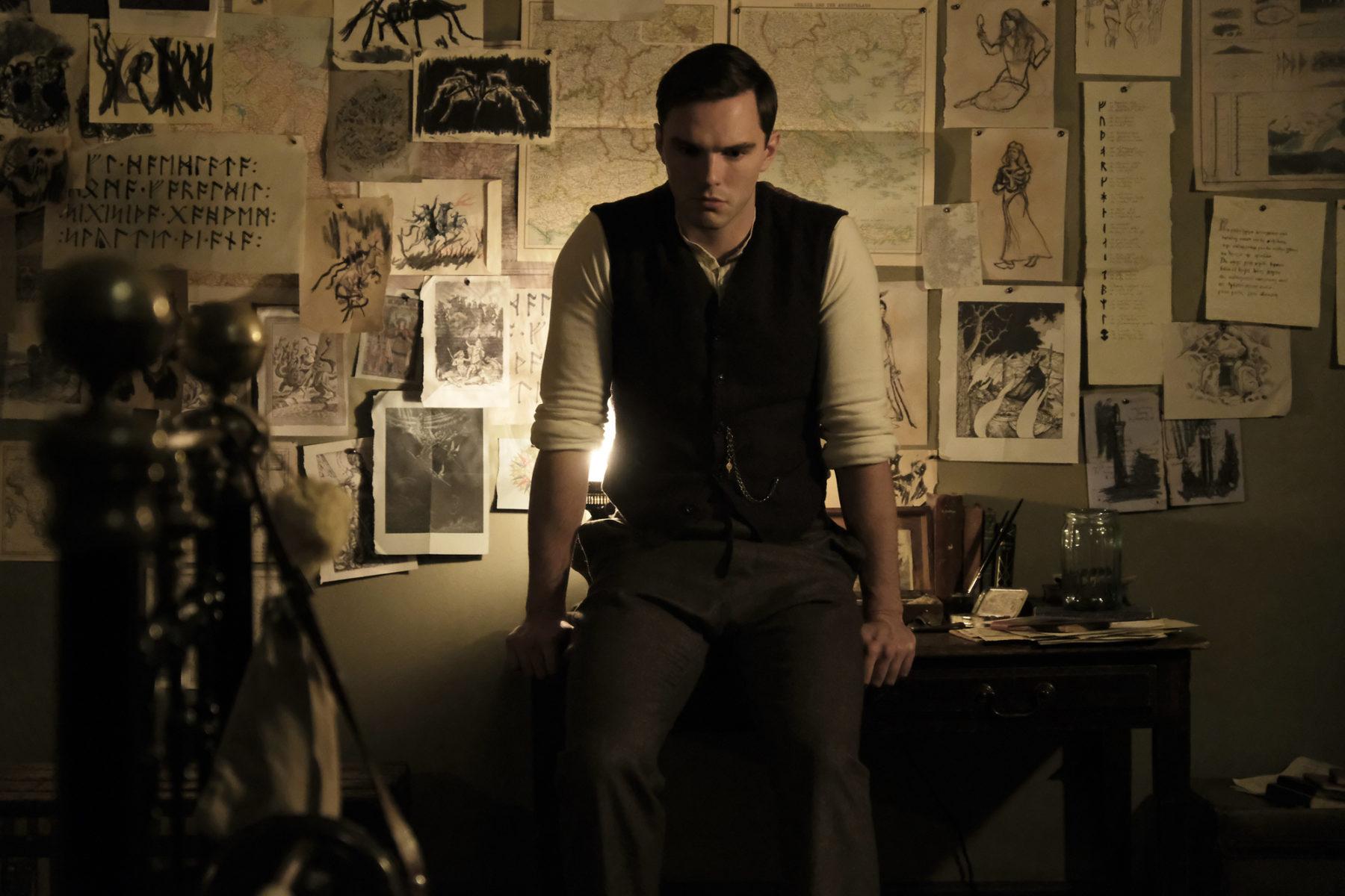 Nicholas Hoult in Fox Searchlight's Tolkien