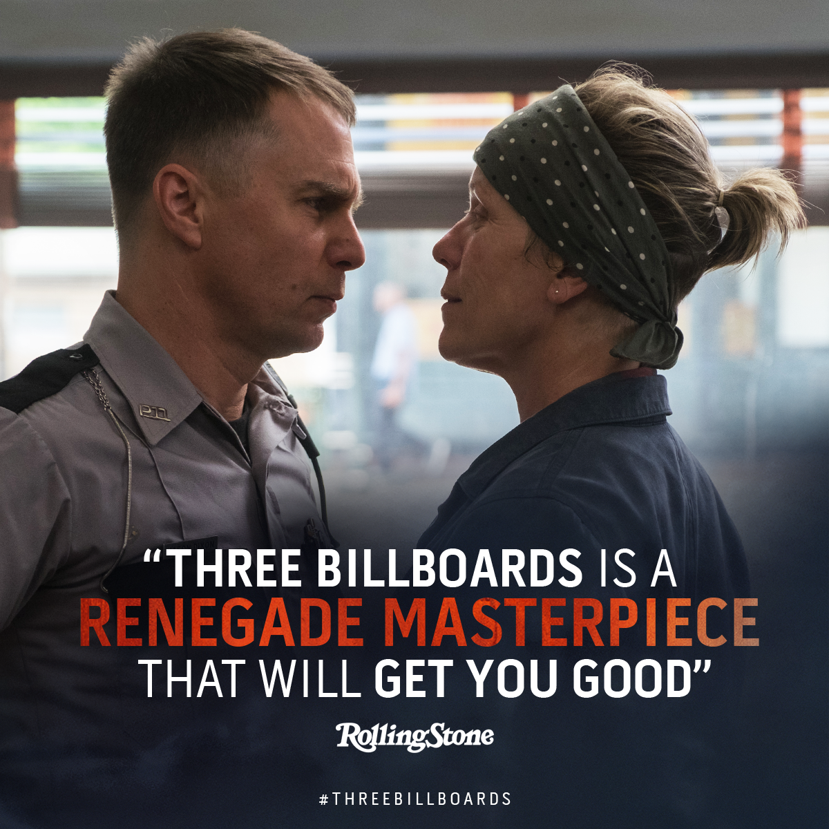 Three Billboards Rolling Stone review