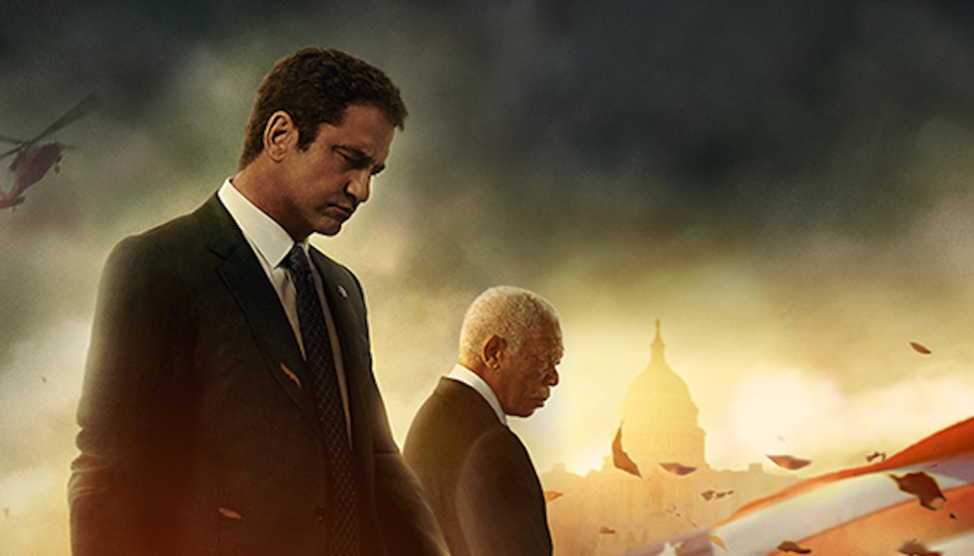 Gerard Butler and Morgan Freeman in Lionsgate's Angel Has Fallen