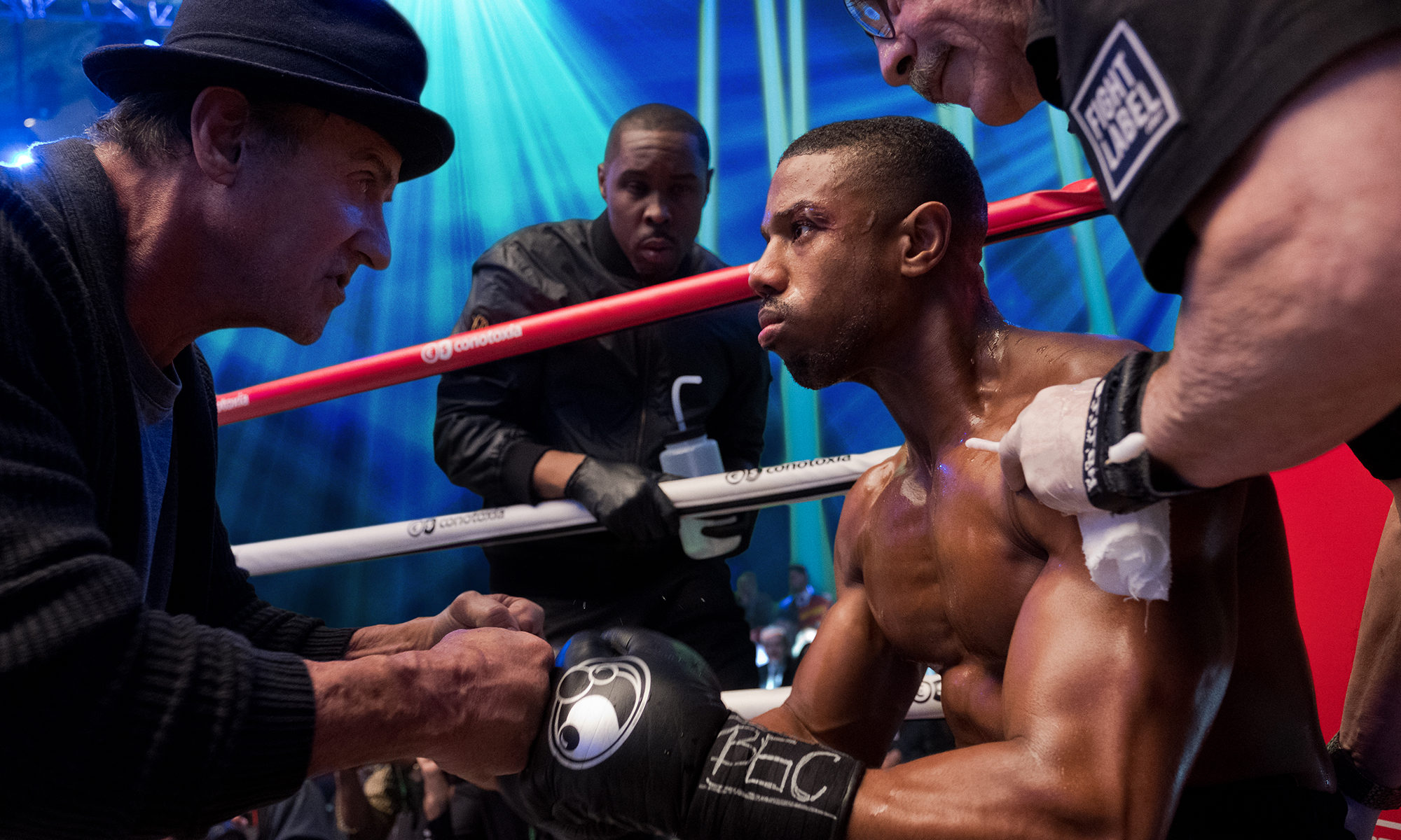 Michael B Jordan stars in Warner Bros.' Creed 2