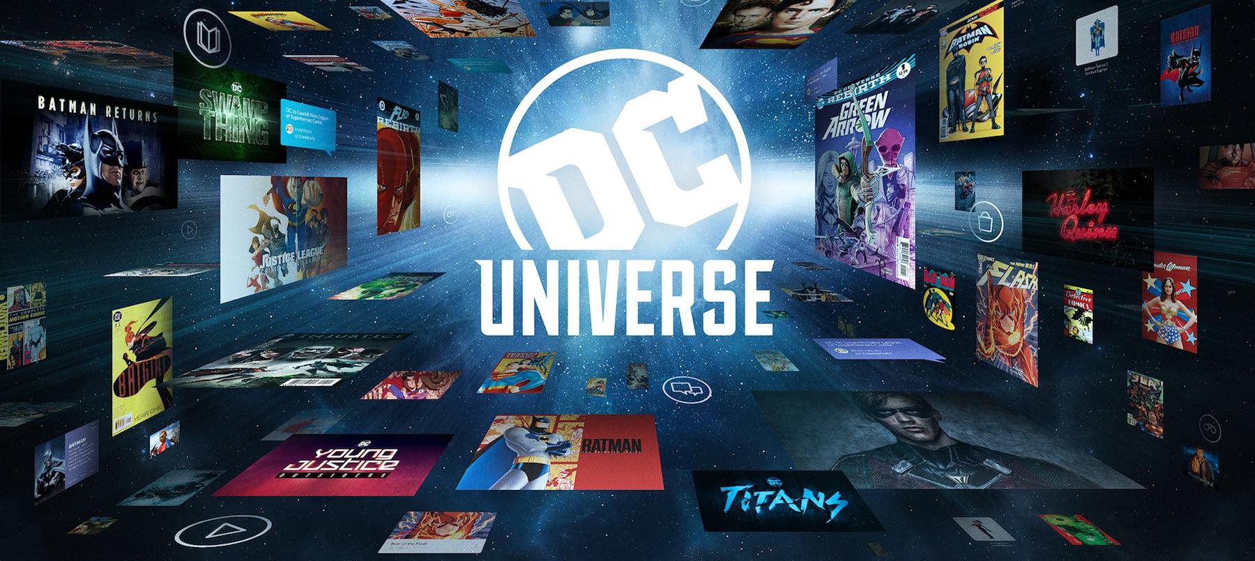 DC Universe Banner