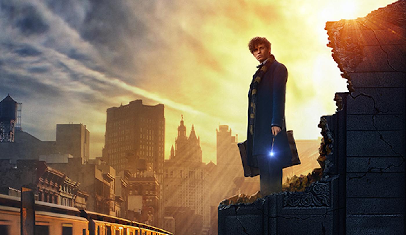 Eddie Redmayne stars in Warner Bros.' Fantastic Beasts and Where to Find Them