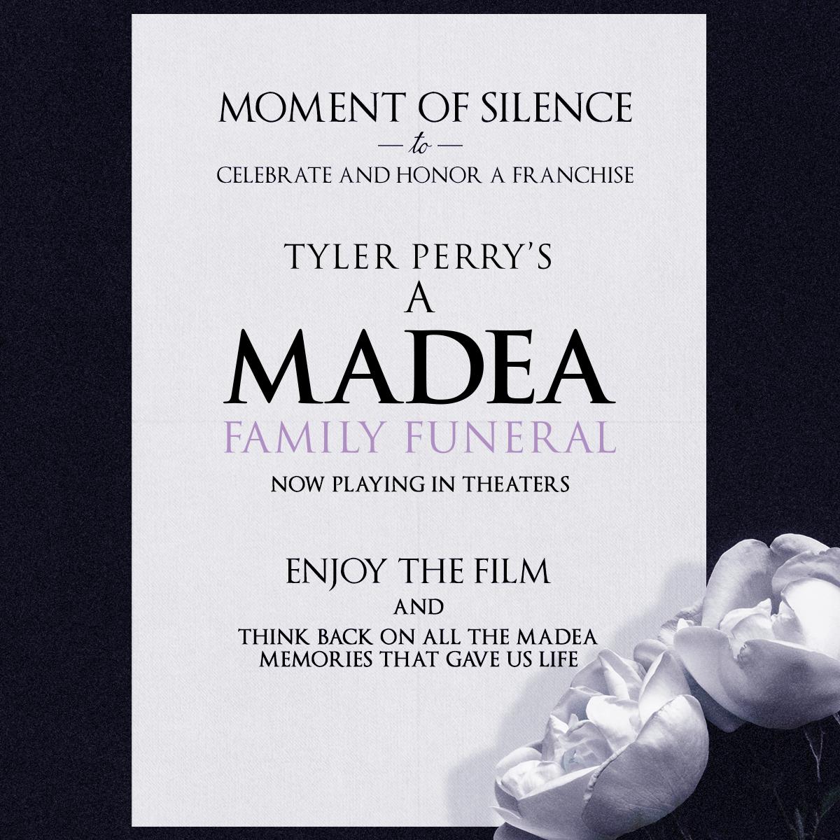 Madea Moment of Silence