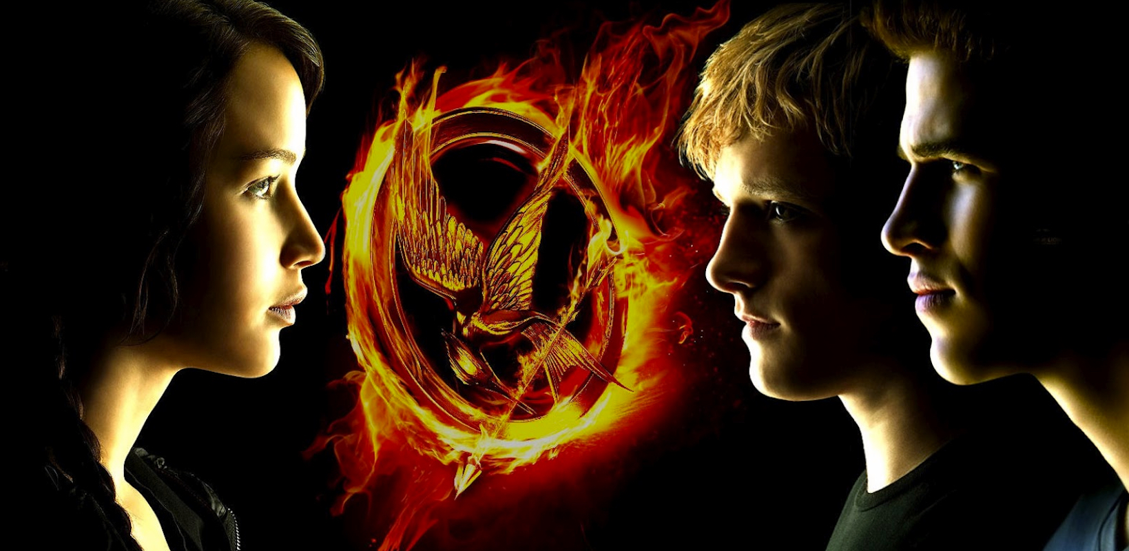 Jennifer Lawrence, Josh Hutcherson, and Liam Hemsworth star in Lionsgate's Catching Fire