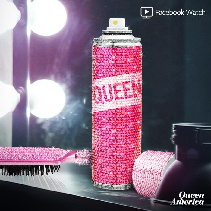 rhinestone hairspray