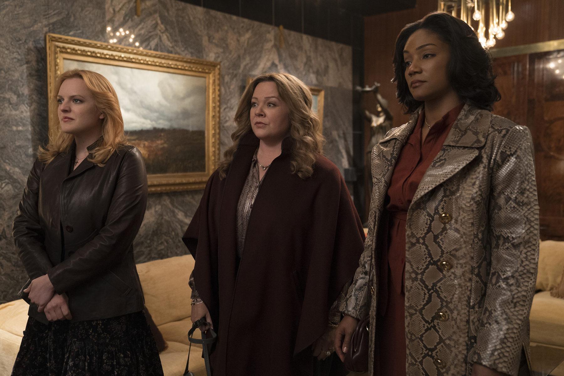 Melissa McCarthy, Tiffany Haddish, and Elizabeth Moss star in Warner Bros. The Kitchen