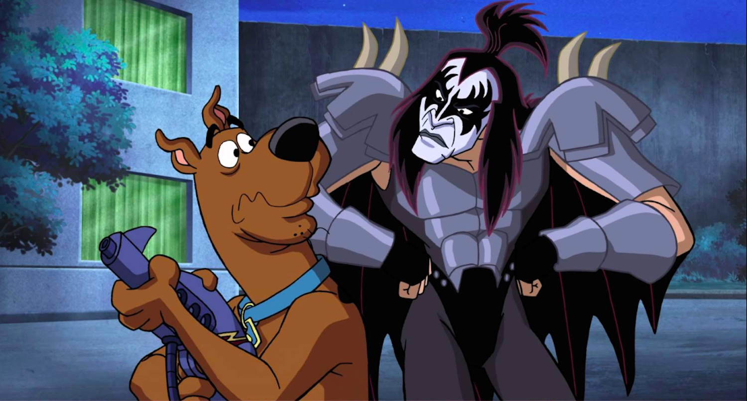 Scooby Doo! and Gene Simmons