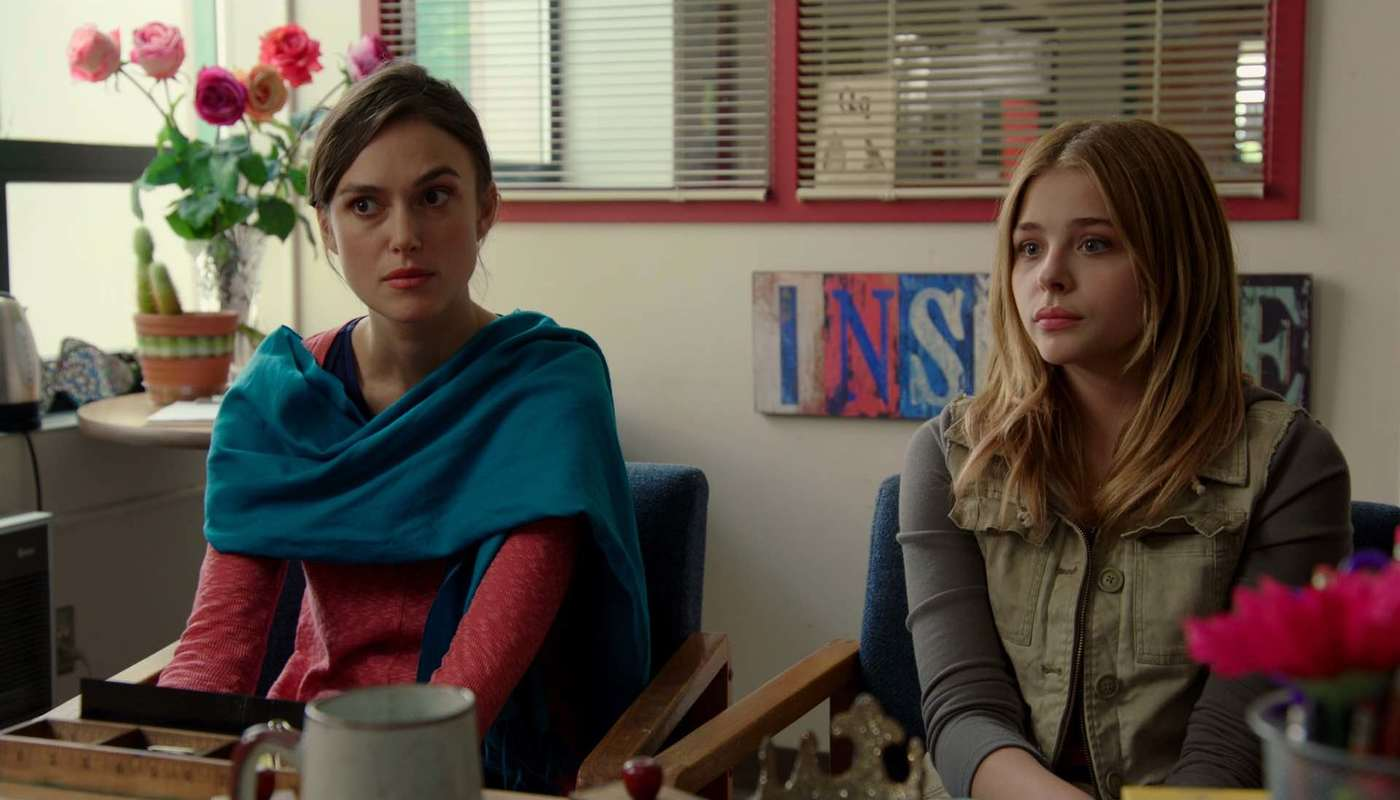 Keira Knightley and Chloë Grace Moretz star in Laggies